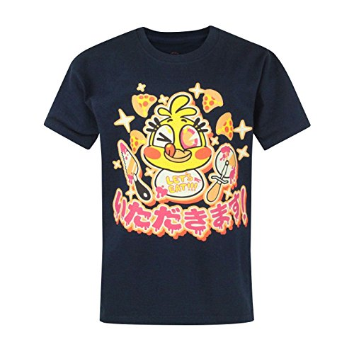 Niño - Official - Five Nights At Freddy's - Camiseta (11-12 Años)