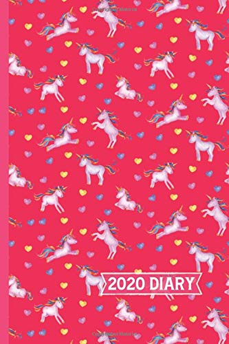 Unicorn 2020 Diary: Weekly & Monthly View Planner, Portable Organizer...