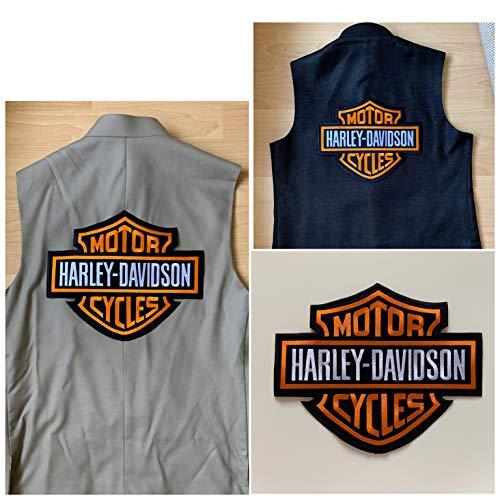 XXL - Harley Davidson Motorrad Aufnäher Aufbügler Aufbügler Jacke Weste Weste
