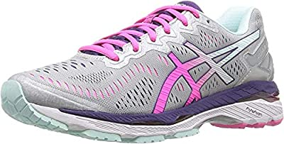 ASICS Women's Gel-Kayano 23 Running Shoe The gel-kayano 23 shoe features  revolutionary flytefoam technology for the optimal balance of lightweight  ...