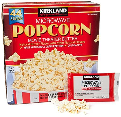 Kirkland Signature Microwave Popcorn 44 Pack Box