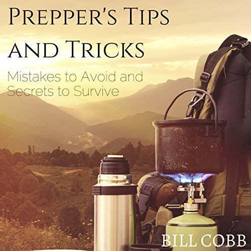 Prepper's Tips and Tricks audiobook cover art