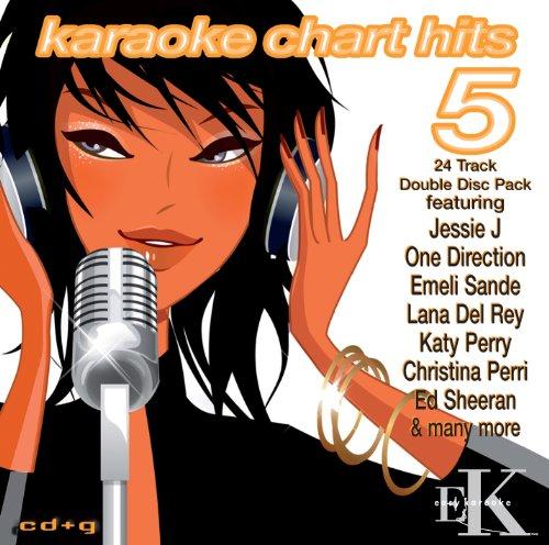 Karaoke Chart Hits Vol 5 - Karaoke CDG Double Disc - EZP122