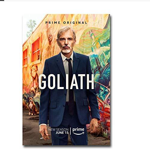 UpperPin Goliath Serie TV Poster Art Decor Pittura per Interni Regalo Stampe HD Home Poster Canvas -50X70Cmx1Pcs -Nessuna Cornice