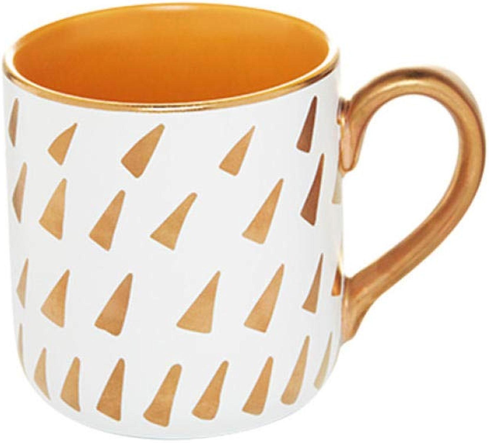 Qzicrw Mug Tasse Douze Constellation Tasse Tasse Or Blanc en Céramique Tasse De Bureau Personnalité Couple Coupe avec La Cuillère De Prougeection