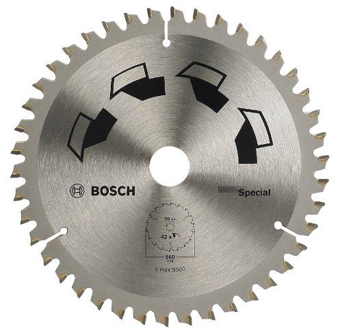 Bosch DIY Kreissägeblatt Special für verschiedene Materialien (Ø 160 mm, 42 Zähne)