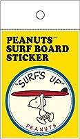 PEANUTS(ピーナッツ) PEANUTS SURF BOARD STICKER ピーナッツ サーフボード ステッカー スヌーピー SURF'S UP シール サーフィン 品番:SNP-19002