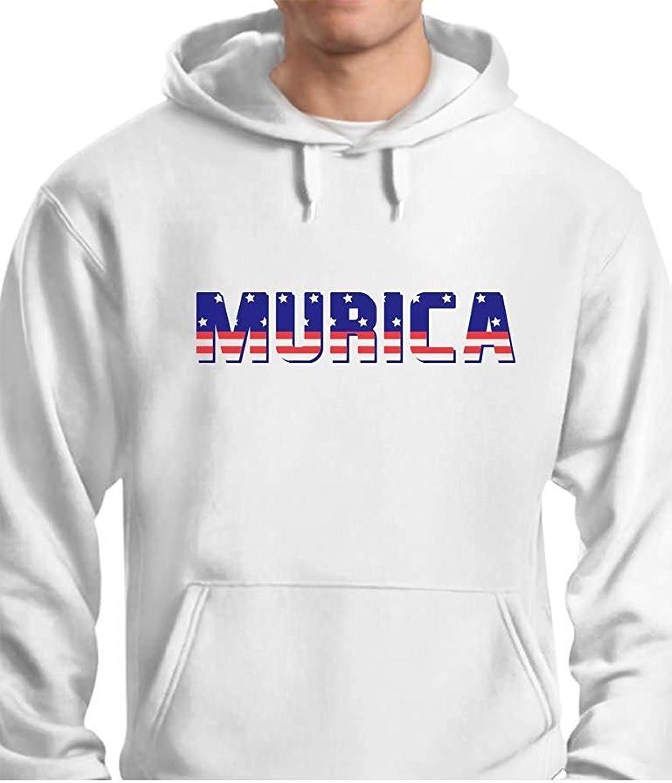 7a397bd11 Laura Longman Murica Fourth of July USA USA USA American Flag Mens Hoodie  859d73