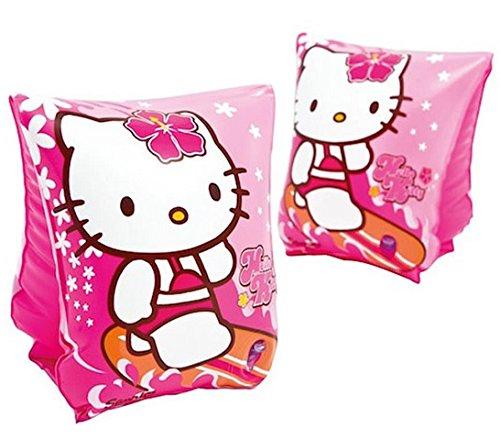 Lot De 2 Brassards Hello Kitty - Enfant Piscine Plage Bracelet - 656