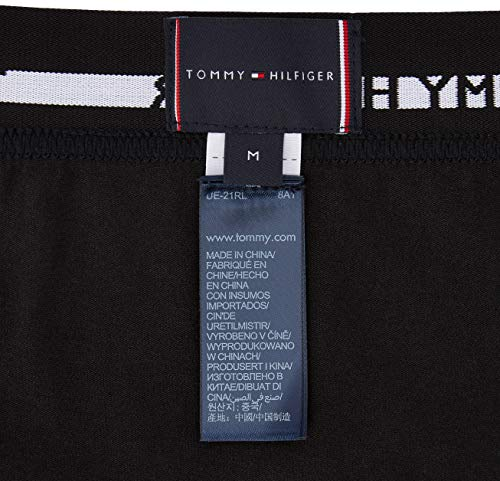 Tommy Hilfiger Men's 3p Trunk Boxer Shorts, Black, M UK