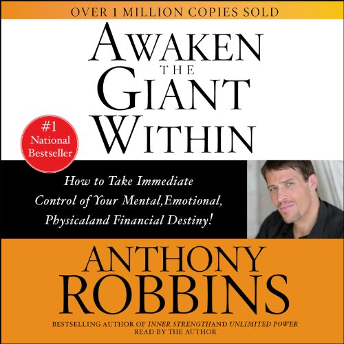 Awaken the Giant Within                   Written by:                                                                                                                                 Anthony Robbins                               Narrated by:                                                                                                                                 Anthony Robbins                      Length: 1 hr and 31 mins     241 ratings     Overall 4.6