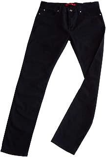 L32 Dark Blue Hugo Boss Charlestone Extra Slim Fit Dark Blue Jeans W38