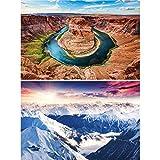 Great Art 2er Set XXL Poster Landschaftsbilder Wandbild