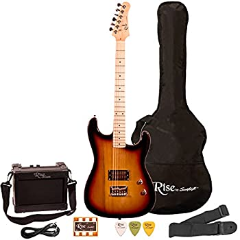 Rise by Sawtooth ST-RISE-ST-SB-KIT-1 Electric Guitar Pack