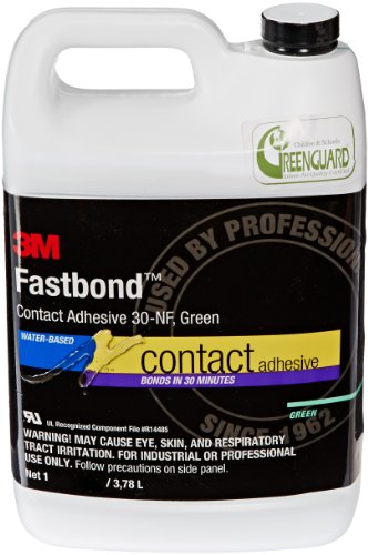 3M Fastbond Contact Adhesive 30NF, Green, 1 Gallon Can