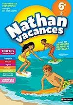 Cahier de Vacances 2020 de la 6ème vers la 5ème, toutes les matières - Nathan Vacances de M Grégoire