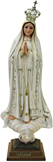 20 Inch 50 cm Our Lady of Fatima Statue Religious Figurine Virgin Mary Madonna Made in Portugal (Old Paint (1035V))