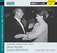 J.S. Bach: Duo Rercital 1971 by Janos Starker