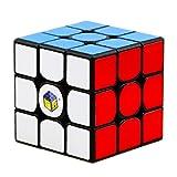 CuberSpeed Yuxin Little Magic 3x3 Black Speed Cube Yuxin 3x3x3 Magic Cube Puzzle