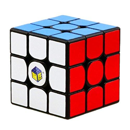 CuberSpeed Yuxin Little Magic 3x3 Black Speed Cube Yuxin 3x3x3 Magic Cube Puzzle (1513)