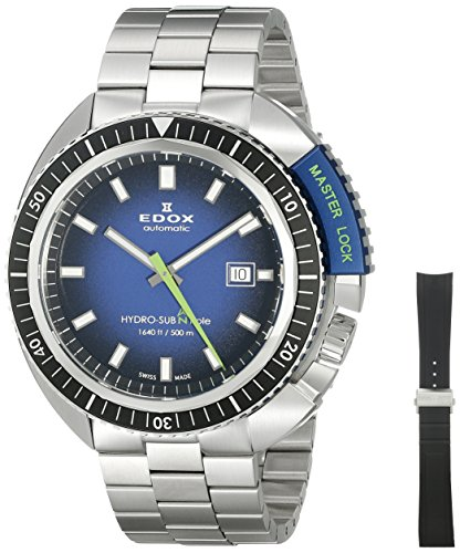 Edox Hydro sub orologi uomo 803013NBUNBU