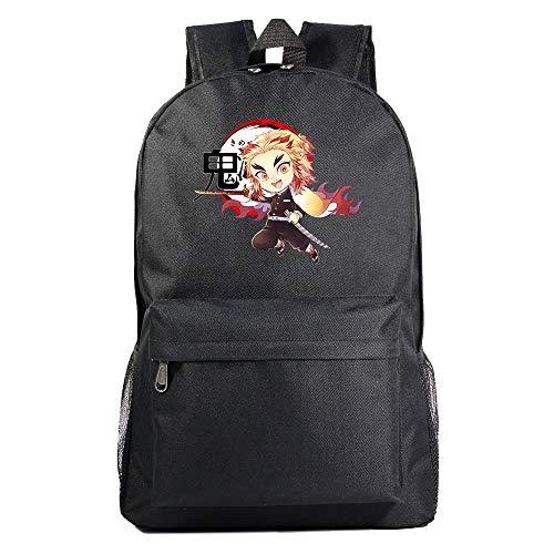 Unisexo Mochila De Anime Demon Slayer Kimetsu no Yaiba Mochila Tipo Casual Mochila para Portátil Mochila Universitaria Bolsa para La Escuela