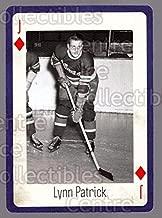 (CI) Lynn Patrick Hockey Card 2005 New York Rangers Legends Playing Card 50 Lynn Patrick