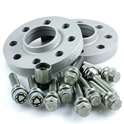 TuningHeads/H&R .0424564.DK.957160-23.CAYENNE-TYP-9PA ABE Spurverbreiterung, 46 mm/Achse + Radschrauben + Felgenschlösser, 46 mm/Achse