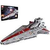FYHCY Technology Space Cruiser Model, Mold King 21005, 6685 Piezas Star Destroyer Attack Crucer Large Moc Clamp Building Blocks Set Compatible con Lego Star Wars