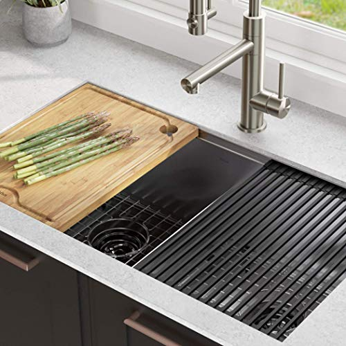 Kitchen Sink Single Bowl Double Drainer Stainless Steel