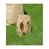 Sacs pour déchets biodégradables - en amidon de maïs, lot de 90 - capacité 120 l, h x l x p 480 x 470 x 1300 mm - sac Wenterra sac plastique sac pour déchets sac pour poubelle sac à ordures sac à