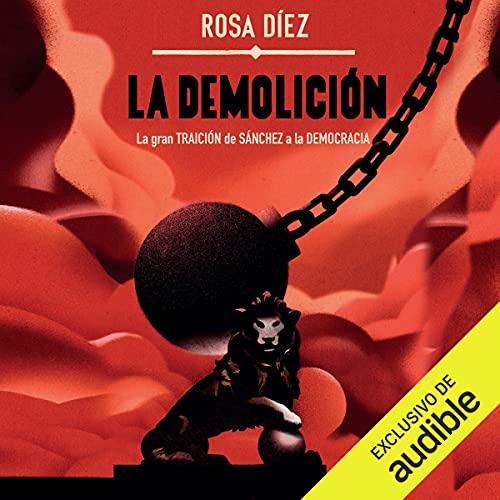 Diseño de la portada del título La demolición