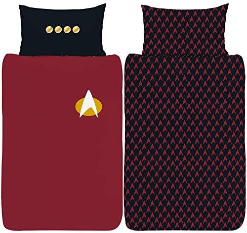 Star Trek Next Generation Uniform Single Bettbezug Set
