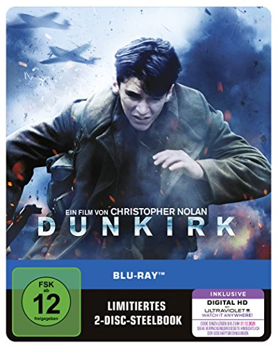 Dunkirk als Steelbook (Limited Edition) [Blu-ray]