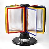 Titular de archivo Soporte de archivo giratorio Soporte del menú Visualización del soporte B6 Visualización del archivo Rotación Visualización para documentos y documentos de la revista A4 Pape