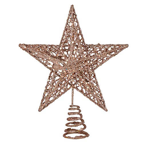 ABOOFAN 1 Pc Christmas Tree Star Topper Charming Party Favor Tree Top Decor Tree Top Ornament for Christmas Holiday Festival