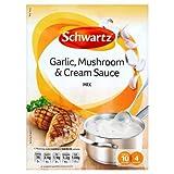 Schwartz Salsa de ajo y champiñones 26 g caja de 8