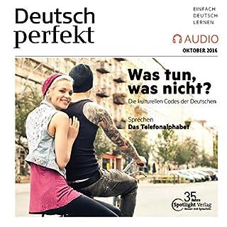 Deutsch perfekt Audio. 10/2016 audiobook cover art