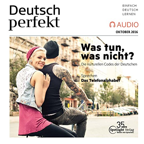 Deutsch perfekt Audio. 10/2016 audiobook cover art