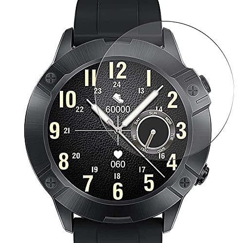 Vaxson 3 Unidades Protector de Pantalla, compatible con CUBOT N1 1.28' Smart Watch smartwatch [No Vidrio Templado Carcasa Case ] Película Protectora Film Guard