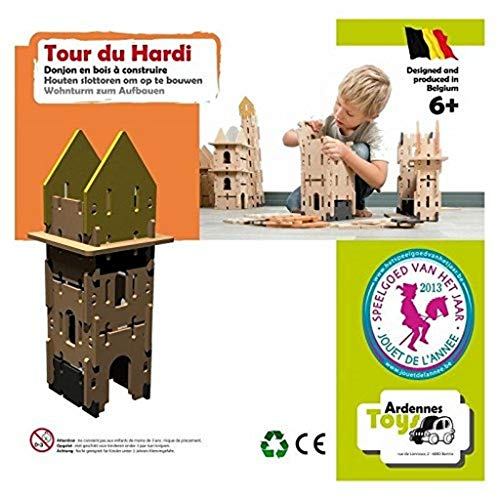 Ardennes toys- Jeu de Tour du Hardi, AT13.006