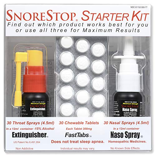 SnoreStop Starter Kit Stop Snoring Aid