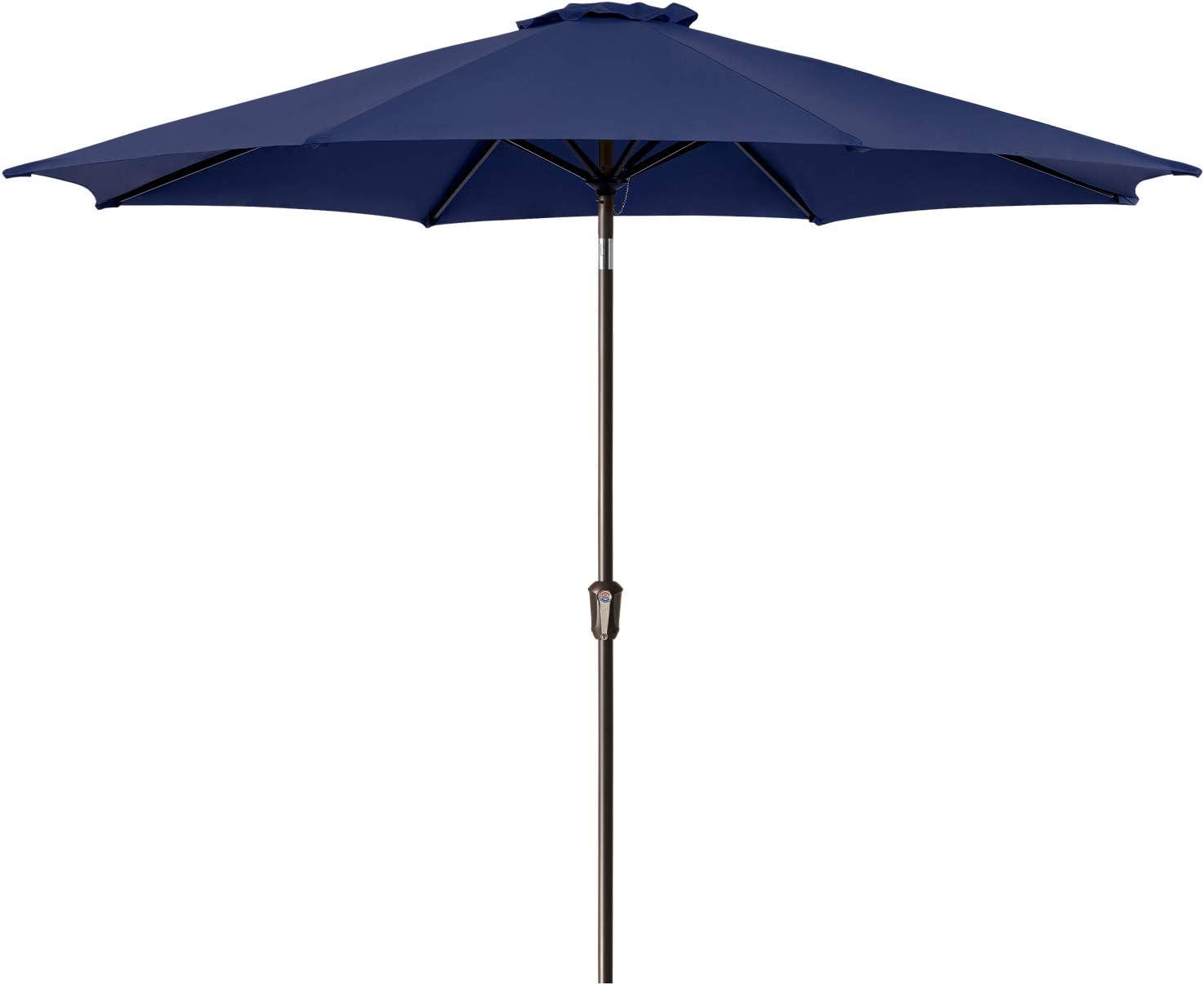 Ralawen 9 FT Choice Patio Umbrella Market Umbrellas Max 89% OFF Outdoor with Table