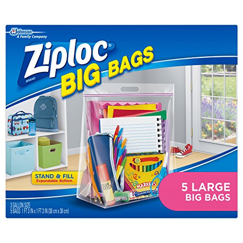 Best Price! Ziploc Big Bags, Large, 5 Count