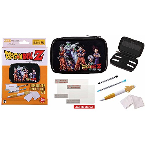 GameMaster DragonBall Z Character Protection Kit (All Heroes) - Nintendo 3DS