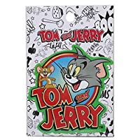 トムとジェリー[ステッカー 防水]ダイカット ステッカー/ビッグロゴ キャラクター グッズ