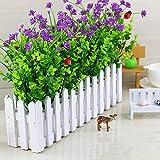5 Stück Künstliche Blumen Gefälschte Künstliche Blumen Lebendigere Veilchen Künstliche Pflanzen Indoor Outdoor für Dekoration Gartenhaus Home Lila Eukalyptus Künstliche Blumen