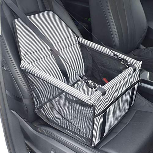 Car Pet Mat, Convenient Foldable Strong Waterproof Dirt-Resistant Wear-Resistant Easy To Clean Mesh Breathable Seat Bag, Suitable for Auto SUV,Gray