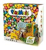 PlayMais World Jungle Bastel-Set für Kinder ab 3 Jahren | Circa 1000, Vorlagen & Anleitungen zum Basteln | Geschenke für Kinder | Fördert Kreativität & Feinmotorik | Natürliches Spielzeug -
