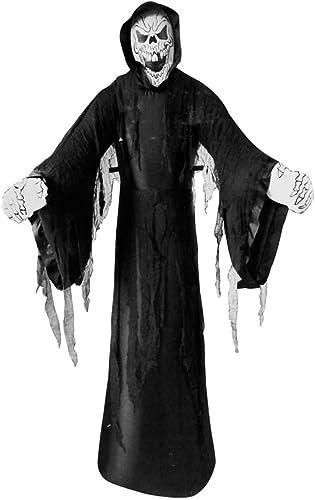 Wilbers Halloween Party Deko Dekoration aufblasbarer Skelett Geist mit Licht